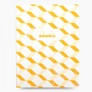 Rhodia - Rhodia Heritage Açık Dikiş 19x25cm Kareli 160 Sayfa Defter Limited Edition Los Angeles 174722
