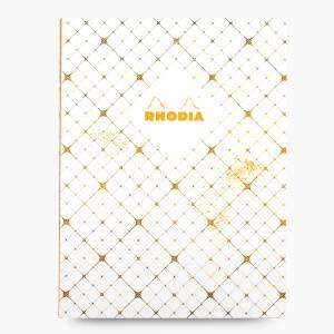 Rhodia - Rhodia Heritage Açık Dikiş 19x25cm Kareli 160 Sayfa Defter Limited Edition Paris 174746