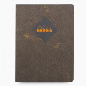 Rhodia - Rhodia Heritage Açık Dikiş 19x25cm Kareli 160 Sayfa Defter Limited Edition Rome 174814