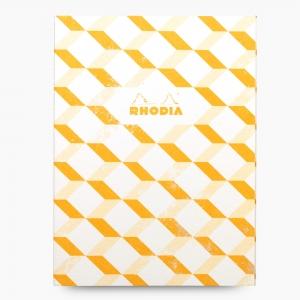 Rhodia - Rhodia Heritage 19x25cm Kareli 64 Sayfa Defter Limited Edition Los Angeles 171226