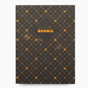 Rhodia - Rhodia Heritage 19x25cm Kareli 64 Sayfa Defter Limited Edition Milan 171349