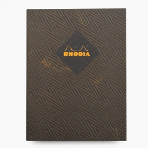 Rhodia - Rhodia Heritage 19x25cm Kareli 64 Sayfa Defter Limited Edition Rome 171318