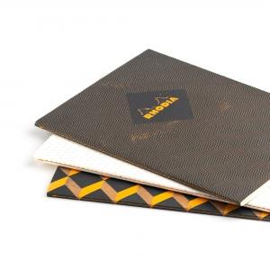 Rhodia - Rhodia Heritage 19x25cm Kareli 64 Sayfa Defter Limited Edition Rome 171318 (1)