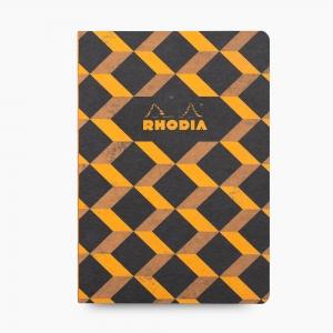 Rhodia - Rhodia Heritage Açık Dikiş A5 Çizgili 160 Sayfa Defter Limited Edition Barcelona 171523