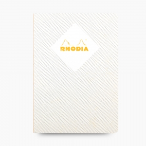 Rhodia - Rhodia Heritage Açık Dikiş A5 Çizgili 160 Sayfa Defter Limited Edition London 171417