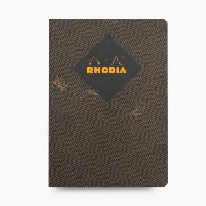 Rhodia - Rhodia Heritage Açık Dikiş A5 Kareli 160 Sayfa Defter Limited Edition Rome 171714