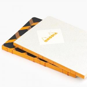 Rhodia - Rhodia Heritage Açık Dikiş A5 Kareli 160 Sayfa Defter Limited Edition Rome 171714 (1)