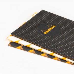 Rhodia - Rhodia Heritage A5 Kareli 64 Sayfa Defter Limited Edition Tokyo 172858 (1)