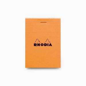 Rhodia - Rhodia No:11 Pad Kareli Not Defteri A7 Turuncu 2008