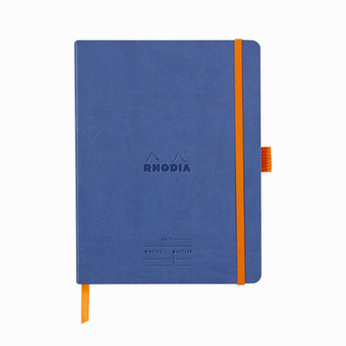 Rhodia Meeting Book A5+ Defter Sapphire Blue 117788C 7884