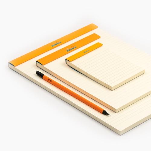 Rhodia No:12 Color Pad 8.5 X 12 cm Çizgili Not Defteri Kırmızı 9730