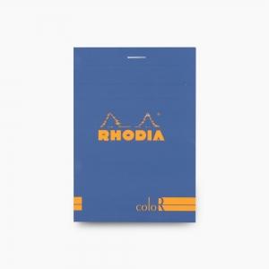 Rhodia - Rhodia No:12 Color Pad 8.5 X 12 cm Çizgili Not Defteri Mavi 9686