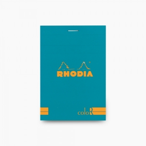 Rhodia No:12 Color Pad 8.5 X 12 cm Çizgili Not Defteri Turkuaz 9679 - Thumbnail