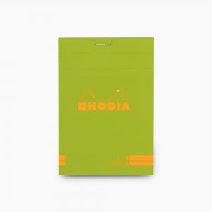 Rhodia - Rhodia No:12 Color Pad 8.5 X 12 cm Çizgili Not Defteri Yeşil 9662