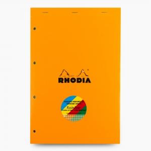 Rhodia - Rhodia No:120 Rainbow Pad Kareli Renkli Sayfalı Not Defteri A4 2005