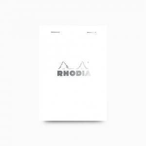 Rhodia - Rhodia No:13 Pad Kareli Not Defteri A6 Beyaz 2013