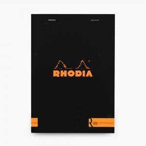 Rhodia - Rhodia No:16 Depius 1934 Pad A5 Çizgisiz Not Defteri Siyah 0083