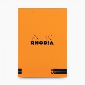 Rhodia - Rhodia No:16 Depius 1934 Pad A5 Çizgisiz Not Defteri Turuncu 0076