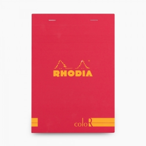 Rhodia - Rhodia No:16 Color Pad A5 Çizgili Not Defteri Poppy 9729