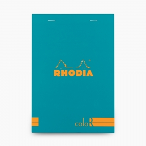 Rhodia - Rhodia No:16 Color Pad A5 Çizgili Not Defteri Turkuaz 9675