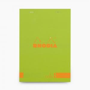 Rhodia - Rhodia No:16 Color Pad A5 Çizgili Not Defteri Yeşil 9668