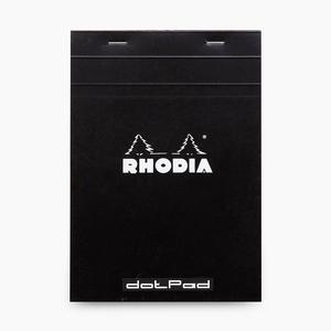 Rhodia - Rhodia No:16 Dotpad (Noktalı) Not Defteri A5 Siyah 5592