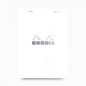Rhodia - Rhodia No:16 Pad Kareli Not Defteri A5 Beyaz 2010