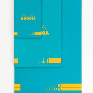 Rhodia No:18 Color Pad A4 Çizgili Not Defteri Mor 9703 - Thumbnail