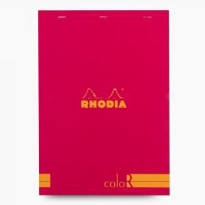 Rhodia - Rhodia No:18 Color Pad A4 Çizgili Not Defteri Poppy 9727
