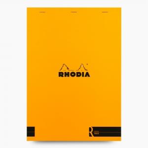 Rhodia - Rhodia No:18 Depius 1934 Pad A4 Çizgisiz Not Defteri Turuncu 0070