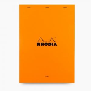 Rhodia - Rhodia No:18 Pad Çizgili Not Defteri A4 Turuncu 6009
