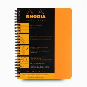 Rhodia - Rhodia Note Book A5 Telli Çizgili Defter Turuncu 4685