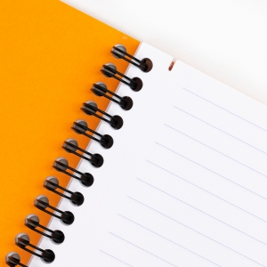 Rhodia - Rhodia Note Book A5 Telli Çizgili Defter Turuncu 4685 (1)