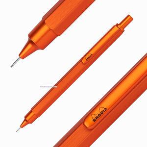 Rhodia ScRipt 0.5mm Mekanik Kurşun Kalem Orange 3987 - Thumbnail
