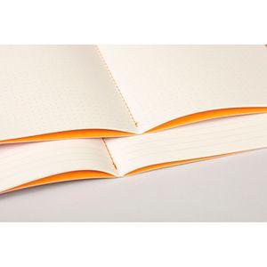Rhodia Sewn Spin A5 İplik Dikiş Çizgili Defter Taupe 116404C 4044 - Thumbnail