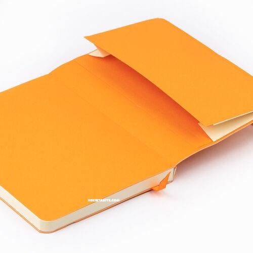 Rhodia Softcover Deri Kapak A6 Çizgili Defter Turquoise 3077