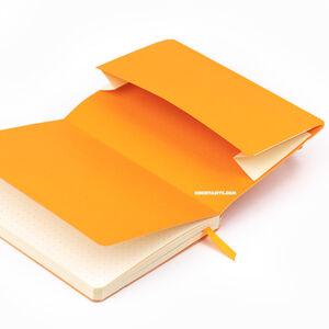 Rhodia Softcover Deri Kapak A6 Dot (Noktalı) Defter Anise Green 3565 - Thumbnail