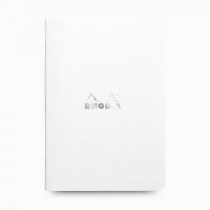 Rhodia - Rhodia Stapled A5 Çizgili Defter Beyaz 1873