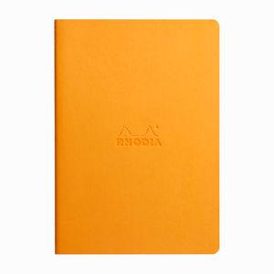 Rhodia Sewn Spin A5 İplik Dikiş Dot (Noktalı) Defter Orange 116465C 4655 - Thumbnail