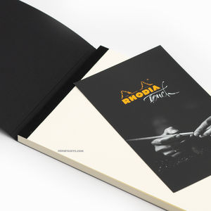 Rhodia Touch A5 Calligrapher Pad 130gr 1227 - Thumbnail