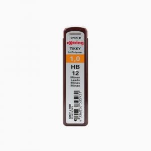 Rotring - Rotring TIKKY 1.0 mm HB 12'li Min (Uç) S0312700