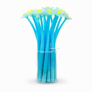 H&S - Sakura Çiçeği İğne Uçlu Jel Kalem Mavi 2395