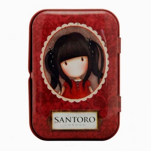 Santoro London Ruby Mini Metal Kutulu Mikro Fiber Bez 1146 - Thumbnail
