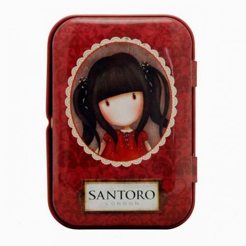 Santoro London Ruby Mini Metal Kutulu Mikro Fiber Bez 1146