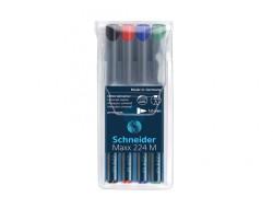 Schneider - Schneider Maxx 224 Permanet Kalem Seti 4'lü M