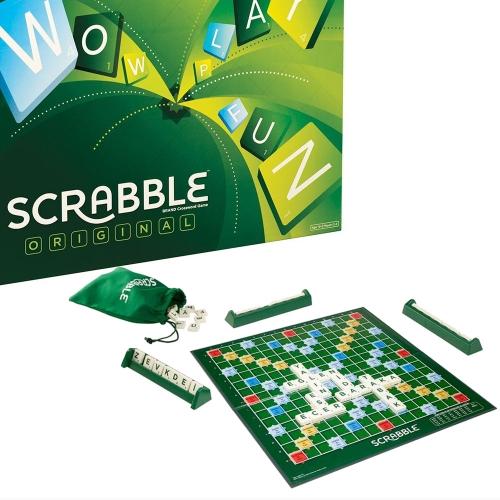 Scrabble Orijinal Türkçe Kelime Oyunu 0873