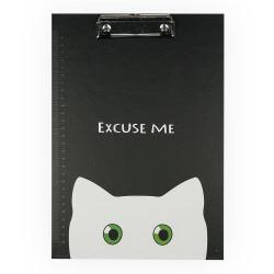 H&S - Sekreterlik A4 Beyaz Kedi