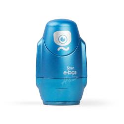 Serve - Serve E-Bot Silgili Çiftli Kalemtraş Metalik Mavi