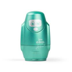 Serve - Serve E-Bot Silgili Çiftli Kalemtraş Metalik Yeşil