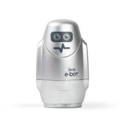 Serve - Serve E-Bot Silgili Kalemtraş Metalik Gümüş